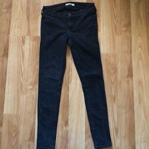 Hollister Super Skinny Black Jeans
